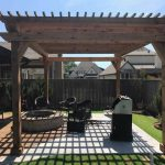Photo of landscaping project completed by Perfection Outdoor Solutions In Tulsa Oklahoma.
