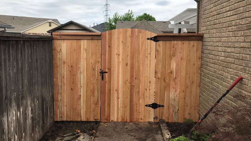 Privacy Fence and Gate Construction