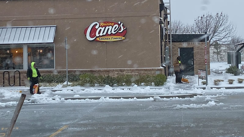 Snow Plowing and Parking Lot & Walkway Salting In Tulsa Oklahoma
